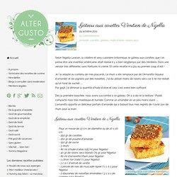 Gâteau aux carottes vénitien de Nigella