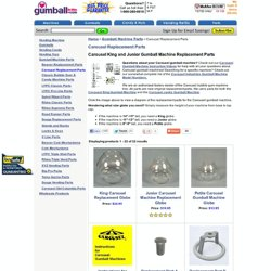 carousel industries gumball machine parts