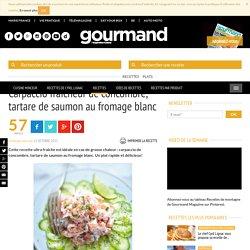Carpaccio concombre & tartare saumon - Recette - Gourmand