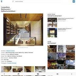 Carpediem Restaurant / Sidharta Architect