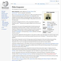 Philo Carpenter