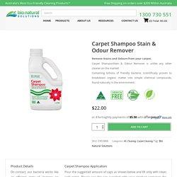 Carpet Cleaner Shampoo
