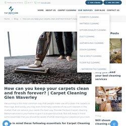 house cleaning glen waverley