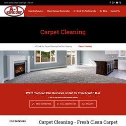 A-1 Kwik Dry - Best Carpet Cleaning in Louisville KY