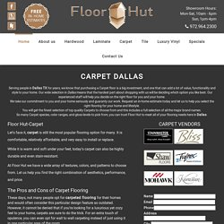 Carpet Flooring Plano, Dallas TX