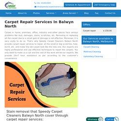 Carpet Repair Services in Melbourne