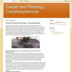 Carpetsbybenrule: Paramount carpet fitter solution - Carpetsbybenrule