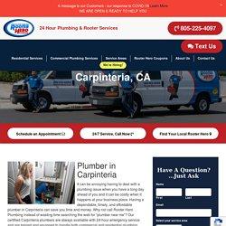 Trusted Emergency Plumbers in Carpenteria, CA