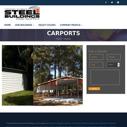 Carports - Central Florida Steel Buildings and Supply