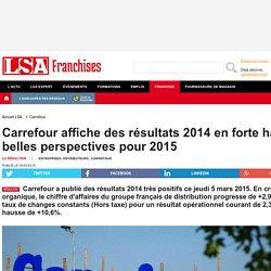 Carrefour affiche de très bons résultats