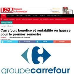 Carrefour: bénéfice et rentabilité en...