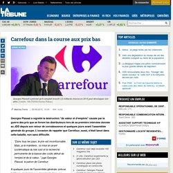 Carrefour dans la course aux prix bas