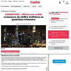 Doc 1: Carrefour, son chiffres d'affaires et l'évolution des ventes