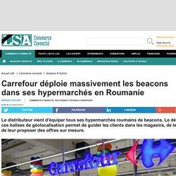 Carrefour déploie massivement les beacons...