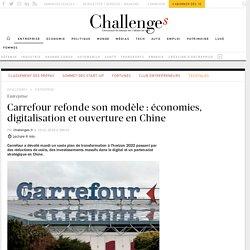 Carrefour refonde son modèle : économies, digitalisation et ouverture en Chine