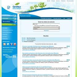 Carrefour éducation