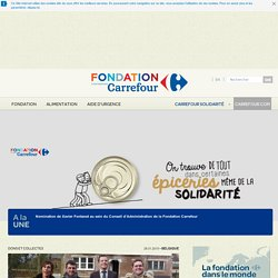 Carrefour Foundation >