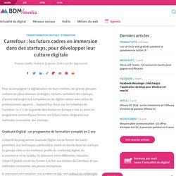 Carrefour : les futurs cadres en immersion dans des startups, pour développer leur culture digitale