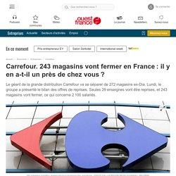 Carrefour. 243 magasins vont fermer en France: il y en a-t-il un près de chez vous?