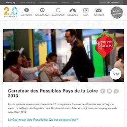 Carrefour des Possibles Pays de la Loire 2013