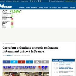 Carrefour: résultats annuels en hausse, notamment grâce à la France