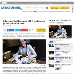 À Carrefour, le téléphone « 100 % remboursé » qui finit par coûter cher !