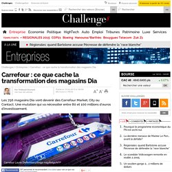 Carrefour : ce que cache la transformation des magasins Dia - 15 avril 2015