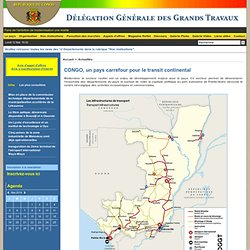 CONGO, un pays carrefour pour le transit continental