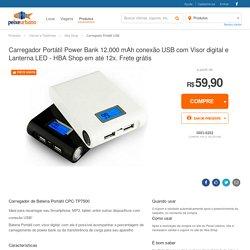 Carregador Portátil USB - Hba Shop