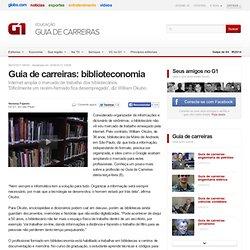 Guia de carreiras: biblioteconomia