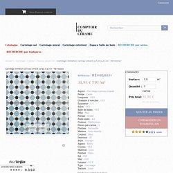 Carrelage imitation carreau ciment sol 45 x 45 cm - HE1105007 - Comptoir du Cerame