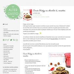 Carrés Fudgy au chocolat & noisettes -