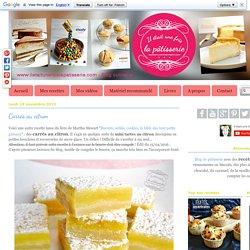 Carrés au citron : Il était une fois la pâtisserie