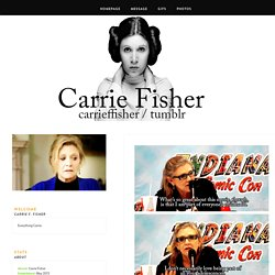 Carrie F. Fisher