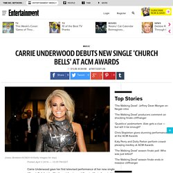 Carrie Underwood debuts Church Bells' at ACM Awards