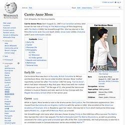 Carrie-Anne Moss [eng]