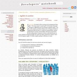 Agilité et carrière - Developers' notebook