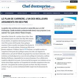 LE PLAN DE CARRIERE, L'UN DES MEILLEURS ARGUMENTS RH DES PME - le guide