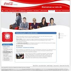 Coca-Cola France votre carrière notre philosophie : la diversité en action