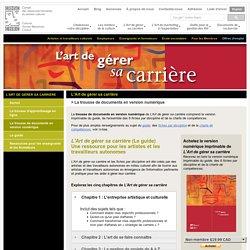 L'art de gérer sa carrière - Conseil des ressources humaines du secteur culturel (CRHSC)