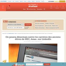 On pourra désormais suivre les carrières des anciens élèves de HEC, Assas...sur LinkedIn