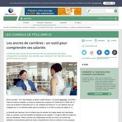 Les ancres de carrières : un outil pour comprendre les salariés - Fusion des sites ANPE et ASSEDIC