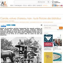 Carriole, voiture, chameau, tram : toute l'histoire des bibliobus