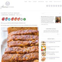 Carrot Apple Bread