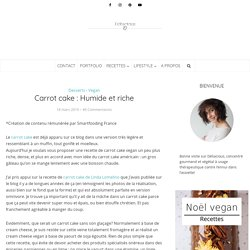 Carrot cake : Humide et riche