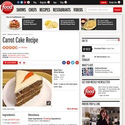 Carrot Cake Recipe :