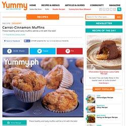 Carrot-Cinnamon Muffins