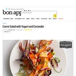 Carrot Salad with Yogurt and Coriander Recipe