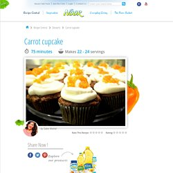 Easy and Simple Carrot cupcake Recipe