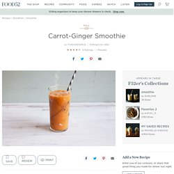 Carrot-Ginger Smoothie Recipe on Food52